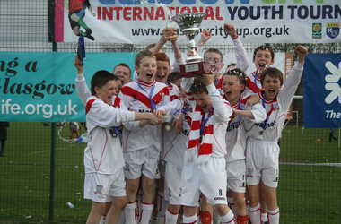 Airdrie United 13s Winners Easter 2011